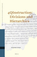 4QInstruction  Division and Hierarchies