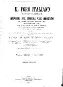 Il foro italiano