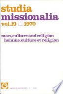 Studia Missionalia  Vol 19
