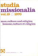 Pdf Studia Missionalia: Vol.19 Telecharger