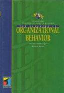 The IEBM Handbook of Organizational Behavior