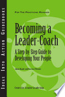 Becoming a Leader-Coach