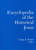 Encyclopedia of the Historical Jesus