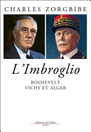 Pdf Roosevelt, Vichy et Alger Telecharger