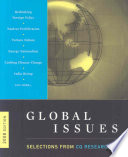 Global issues  : selections from CQ researcher