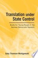 Translation Under State Control