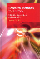 Research Methods for History Book