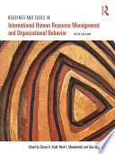 Readings And Cases In International Human Resource Management And Organizational Behavior Book PDF