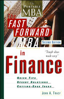 The Fast Forward MBA in Finance