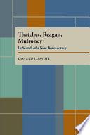Thatcher Reagan And Mulroney