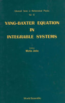 Yang-Baxter Equation in Integrable Systems [Pdf/ePub] eBook
