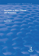 Sources of Non-official UK Statistics Pdf