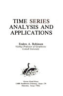 Time Series Analysis And Applications Book PDF