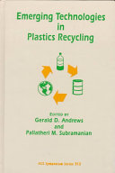 Emerging Technologies in Plastics Recycling