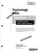 Algebra 1  Explorations and Applications