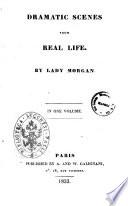 Dramatic Scenes from Real Life by Lady Morgan Pdf/ePub eBook