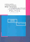 Issues and Methods in Comparative Politics