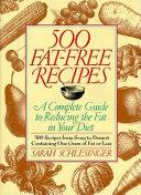 500 Fat-free Recipes