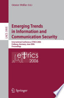 Emerging Trends in Information and Communication Security Book