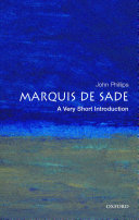 The Marquis de Sade  A Very Short Introduction