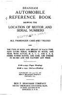 Branham Automobile Reference Book