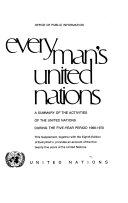 Everyman S United Nations