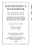 Pdf Handbook for Machine Shop and Drafting-room