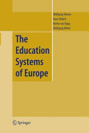 The Education Systems of Europe Pdf/ePub eBook