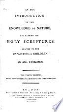 An Easy Introduction to the Knowledge of Nature  and Reading the Holy Scriptures