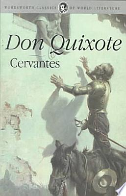 Book cover of 'Don Quixote' by Miguel de Cervantes Saavedra