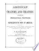 American Orators and Oratory