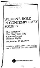 Women s Role in Contemporary Society