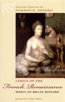Lyrics of the French Renaissance