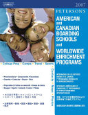 Peterson S American And Canadian Boarding Schools And Worldwide Enrichment Programs