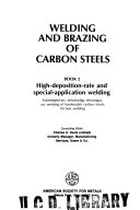 Welding and Brazing of Carbon Steels: High-deposition-rate and special-application welding