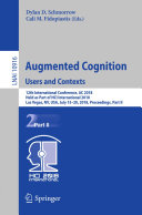 Augmented Cognition  Users and Contexts