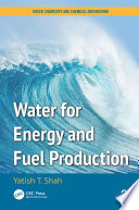 Water for Energy and Fuel Production