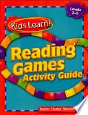Kids Learn Reading Games Grades 3 5 Kit