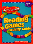 Kids Learn! Reading Games: Grades 3-5 Kit