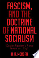 Fascism And The Doctrine Of National Socialism Book