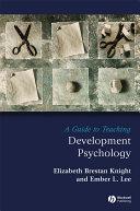 A Guide to Teaching Developmental Psychology Pdf/ePub eBook