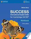 Success International English Skills For Cambridge Igcse Workbook