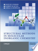 Structural Methods in Molecular Inorganic Chemistry