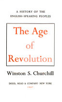 History English Speaking Peoples Age Revolution