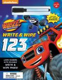 Nickelodeon s Blaze and the Monster Machines Write   Wipe 123 Book PDF