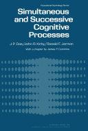 Simultaneous and Successive Cognitive Processes [Pdf/ePub] eBook