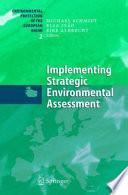 Implementing Strategic Environmental Assessment