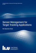 Sensor Management for Target Tracking Applications