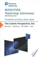 The Cosmic Perspective Modified Mastering Astronomy With Pearson EText Access Code