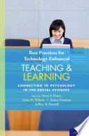 Best Practices for Technology Enhanced Teaching and Learning Book